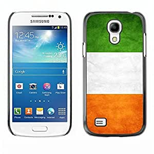Shell-Star ( National Flag Series-Ireland ) Snap On Hard Protective Case For Samsung Galaxy S4 MINI / i9190 / i9192