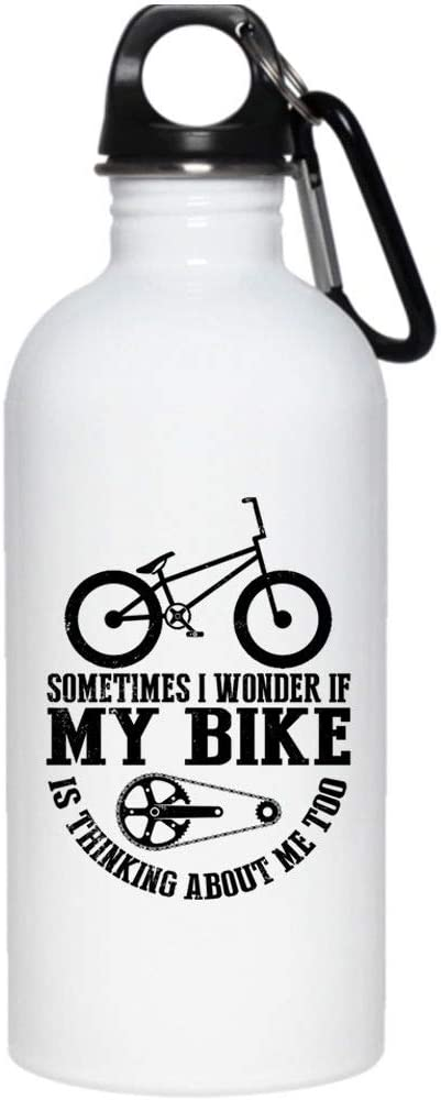 A veces me pregunto si mi bicicleta está pensando en mí demasiado ...