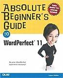 WordPerfect 11, Laura Acklen and Ernest Adams, 0789730715