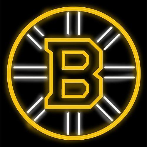 Imperial Officially Licensed NHL Merchandise: Neon Light, Boston Bruins