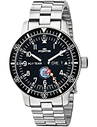 Fortis Watch Men's 647.10.91 PC-7 M PC-7 Team Analog Display Automatic Self Wind Silver Watch