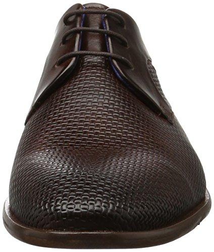 Daniel Hechter 811219051100, Zapatos de Cordones Derby para Hombre Marrón (Dark Brown)
