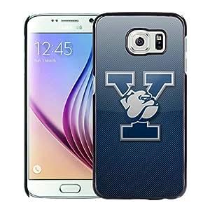 NCAA Yale Bulldogs 5 Black Customize Samsung Galaxy S6 G9200 Phone Cover Case
