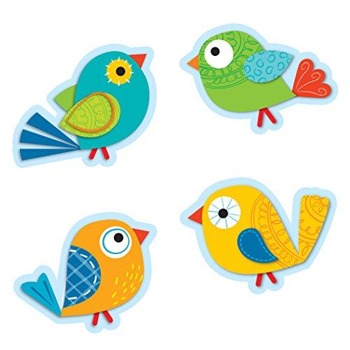 Carson Dellosa Boho Birds Cut-Outs (120115)