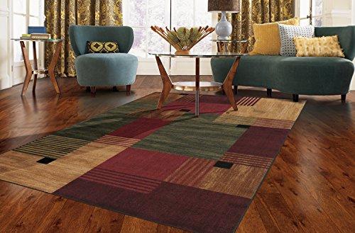 Gameroom Carpet Rug - Mohawk Home New Wave Alliance Geometric Printed Area Rug,  1'8x2'10,  Multicolor