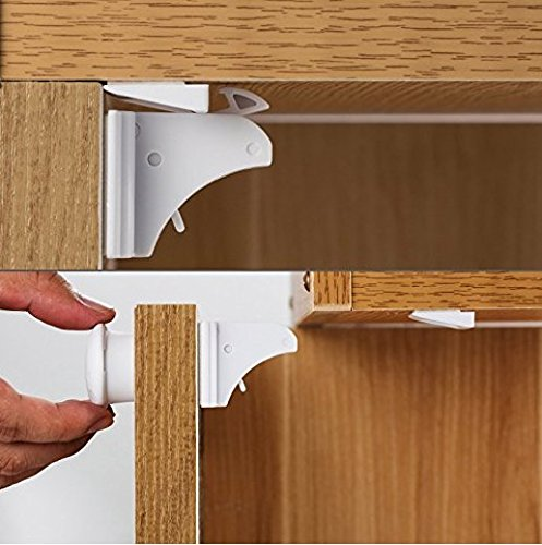 Cabinet Safety Magnetic Adhesive Install product image