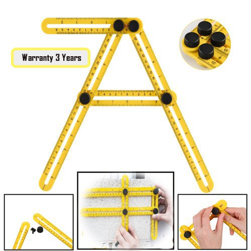 Angleizer Template Tool, Angleizer Template Ruler, Multi-...