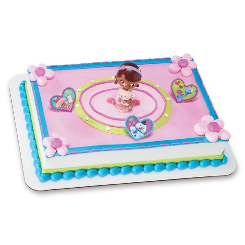 Decopac Doc McStuffins Doc and Lambie DecoSet Cake Topper ()