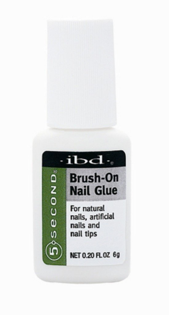 ibd 5 Second Brush-On Nail Glue 6g/0.2oz AII IBDSECONDARY06