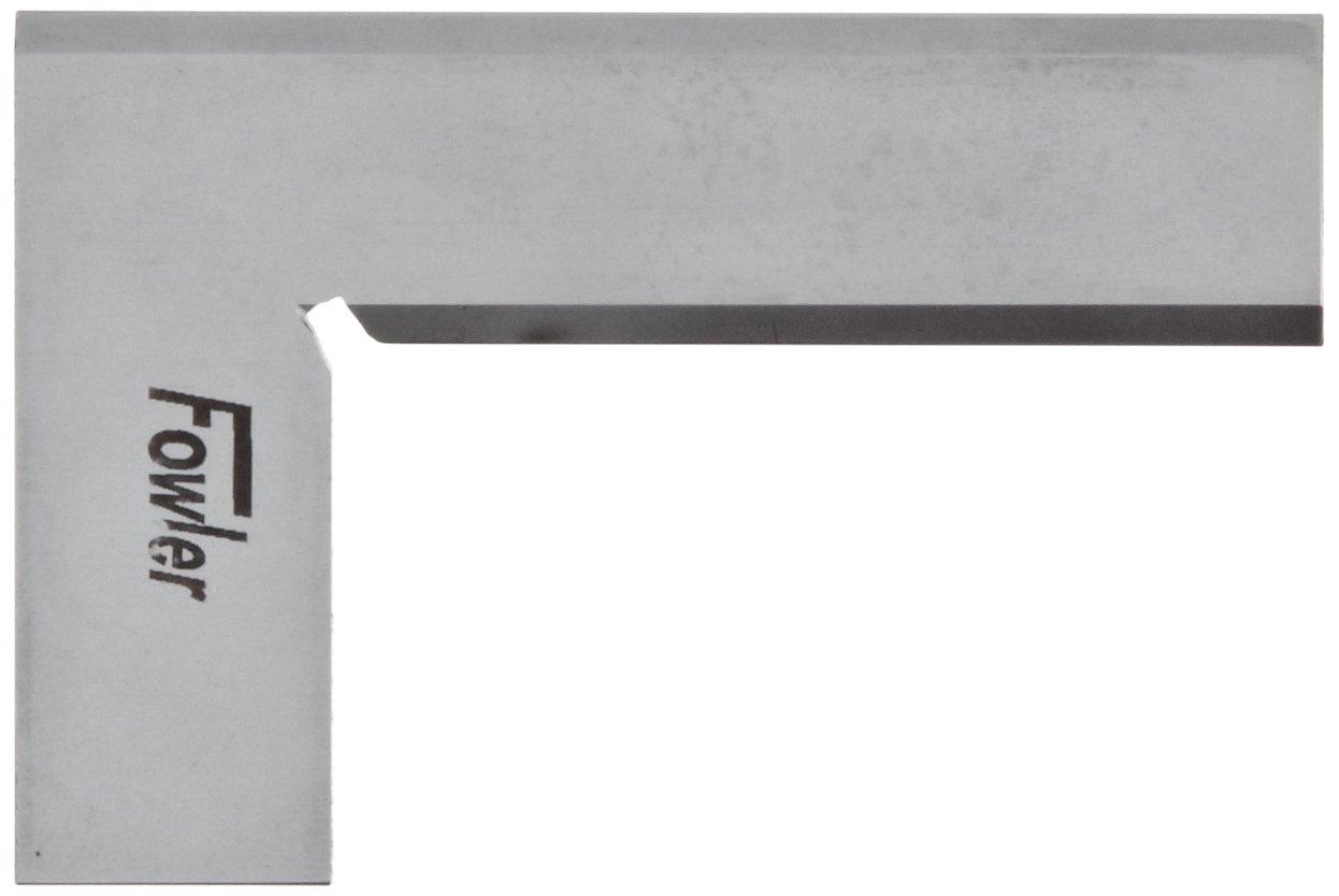 Fowler 52-426-003 Steel Bevel Edge Square 3-1//8 Blade Length 2 Beam Length