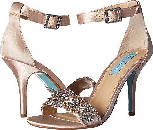 Blue by Betsey Johnson Women's Gina Champagne 6.5 W US