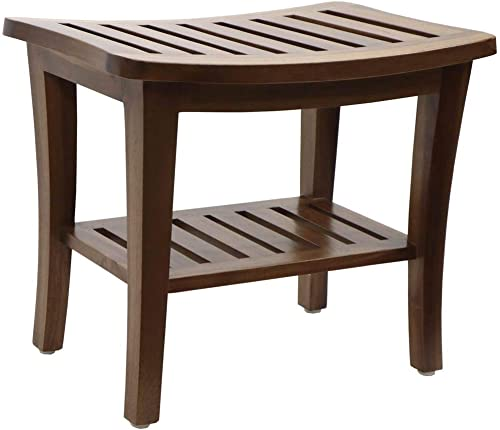 Redmon 5323 Teak Collection Bench, 20 x 13.5 x 17.5 Height