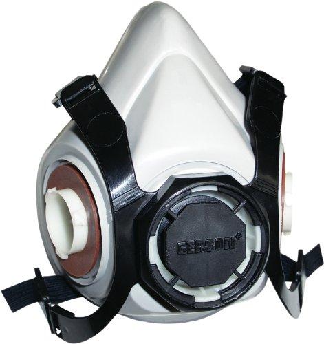 Gerson 9100S Half Mask Reusable Cartridge Respirator Face...