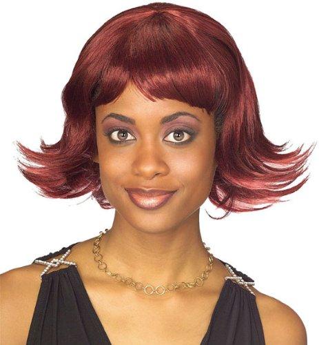 Destiny's Child Costumes (Rubie's Costume Destiny Auburn Wig, Black/Red, One Size)