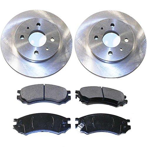 02 Brake Rotors Ceramic Pads - 5