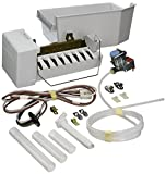 kenmore 106 ice maker - 1129316 - OEM FACTORY ORIGINAL WHIRLPOOL KENMORE MAYTAG COMPLETE ICEMAKER ADD ON KIT For plastic liner Whirlpool, Kitchen Aid, Roper, Estate and Kenmo