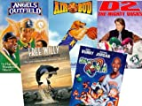 Angels in the Outfield, Air Bud, D2- The Mighty Ducks, Space Jam, Free Willy
