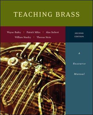 Teaching Brass:Resource Manual