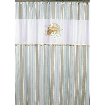 Delightful Avanti Linens By The Sea Shower Curtain, White