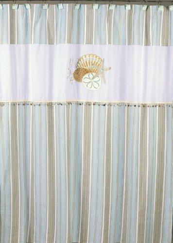 Avanti By The Sea Shower Curtain White