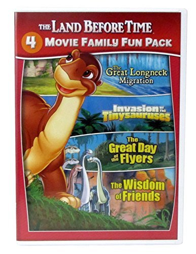 The Land Before Time 4 Movie Family Fun Pack (Land Before Fun Pack Time Family)