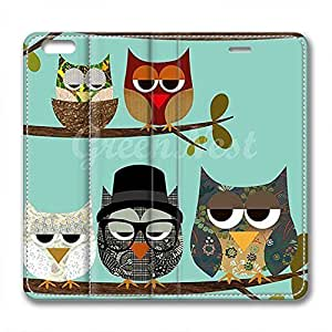 iCustomonline Leather Case for iPhone 6 Plus, Me and My Friends Stylish Durable Leather Case for iPhone 6 Plus