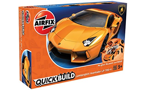 Airfix Quick Build Lamborghini Aventador Car Model Kit: Amazon.co.uk: Toys  U0026 Games