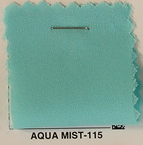 Polyester Georgette - Double Georgette Fabric / Chiffon Dobby Fabric - AQUA MIST-115