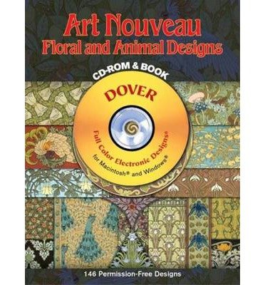 Download Art-Nouveau Floral and Animal DES CD (Dover Electronic Clip Art) (CD-ROM) - Common PDF