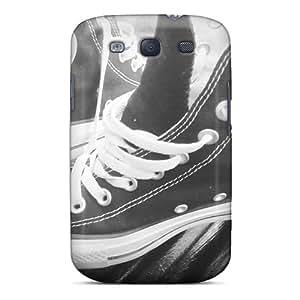 Hot Tough Chucks First Grade Tpu Phone Case For Galaxy S3 Case Cover