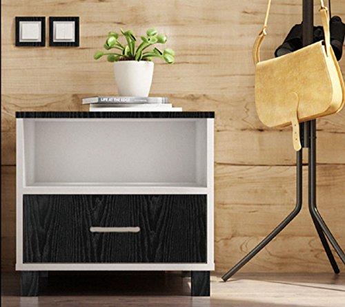 Black Wood Grain Contact Paper Self Adhesive Shelf Liner