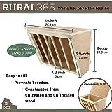Rural365 Manger Mount Rabbit Hay Feeder Rack for