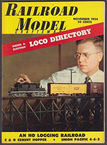(RAILROAD MODEL CRAFTSMAN C & O Cement Hopper Union Pacific 4-6-2 Logging 11 1954)