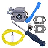 Savior Carburetor with Adjustment Tool Kit Screwdriver Fuel Line for ZAMA C1Q-W37 545081811 Husqvarna 125B 125BX 125BVX Blower