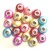 Pastel Color Beads 9.5 mm - Pack Of 45