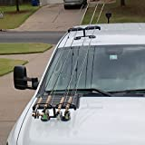 Cheap Tight Line Enterprises Magnetic Fishing Rod Racks for Vehicle (Truck or SUV) with Ferrous Metal Hood and Roof