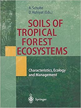 Soils of Tropical Forest Ecosystems: Characteristics, Ecology And Management