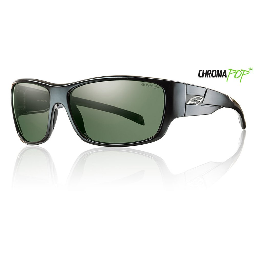 13ffc4bb00 Smith Touchstone Sunglasses - Polarized ChromaPop Matte Black Platinum