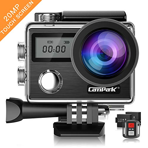 Used, Action Camera Campark X20 4K 20MP Touch Screen Waterproof for sale  Delivered anywhere in USA