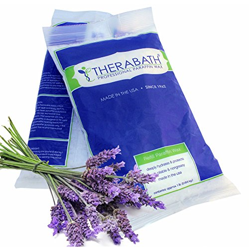 Therabath Paraffin Wax Refill - Use To Relieve Arthitis Pain and Stiff Muscles - Deeply Hydrates and Protects - 6 lbs (Lavender Harmony) ()