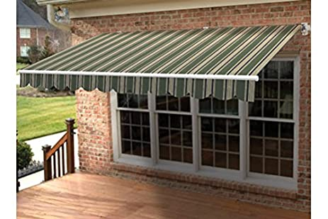 mount awning galleries dealers retractable closed nuimage awnings sunbrella photo blue commercial soffit