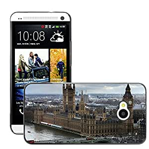 Hot Style Cell Phone PC Hard Case Cover // M00169018 Westminster Palace London City // HTC One M7