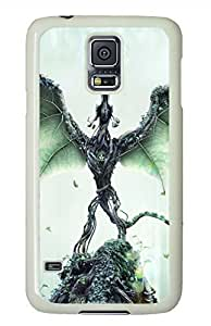 Forest Guardian White Hard Case Cover Skin For Samsung Galaxy S5 I9600