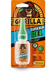 Gorilla Superglue Gel, 15 gram, helder