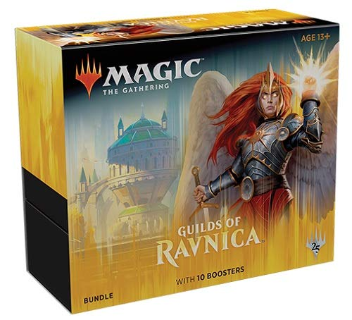 MTG Magic The Gathering Guilds of Ravnica Bundle Box 10 Booster Packs