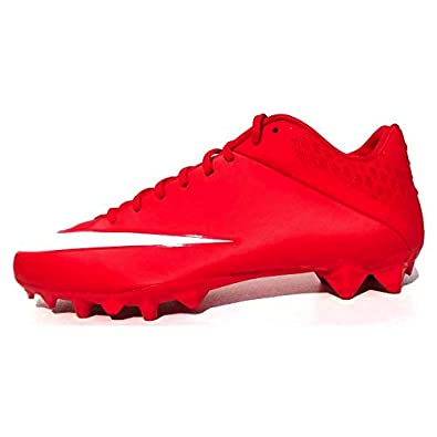 254013f0ff33 Image Unavailable. Image not available for. Color: Nike Vapor Speed 2 TD CF  Low University Red-White Men's Football Cleats ...