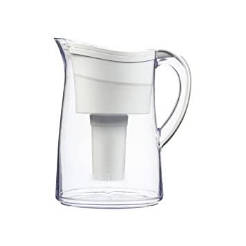 Brita Vintage Water Filter Pitcher, White, 10 Cup