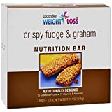 Doctors Best Weight Loss - High Protein Diet Bars | Fudge & Graham | Low Calorie, Low Fat, Low Sugar (7/Box)