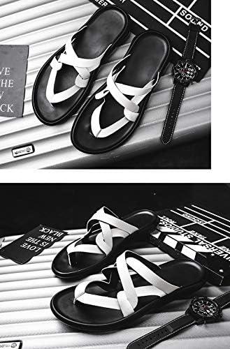 (ハンフウ)HUMGFENG メンズサンダル 革 ビーチサンダル スポーツサンダル おしゃれ オープントゥ 人気 カジュアル フラット リゾート 夏 男性 快適 超軽量