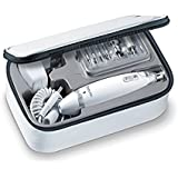 Beurer Electric Manicure & Pedicure Kit With Powerful Nail Drill and 10 Attachment System, MP62